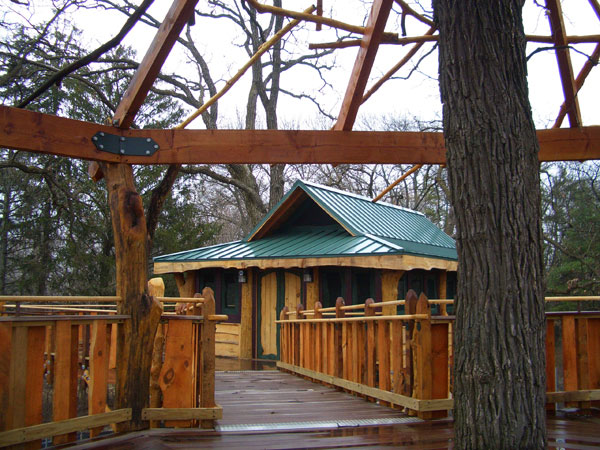 Citizens Park  Barrington, Illinois, Treehouse by the Treehouse Guys, LLC Vermont