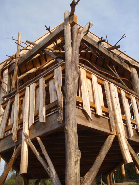 Thatcher Brook Primary School  Waterbury Vermont - treehouse by The Treehouse Guys, LCC