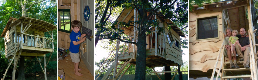 Backyard Tree Houses By The Treehouse Guys, LLC Vermont