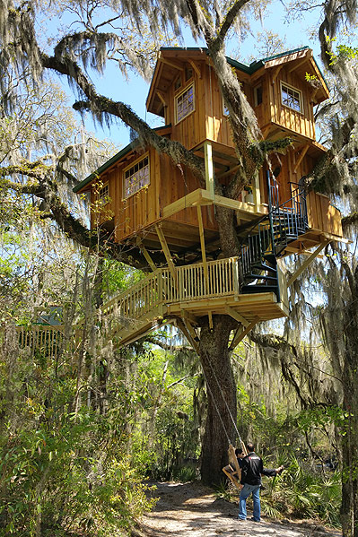 Spirit of the Suwannee - Live Oak, FL tree house by the Tree House Guys, DIY network