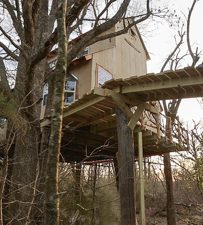 Savannah's Meadow   Tree House by the Tree House Guys, DIY network