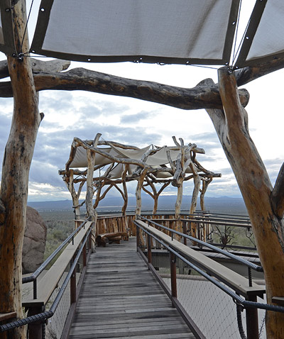 Sonora Desert Museum public tree house by The Treehouse Guys, LLC
