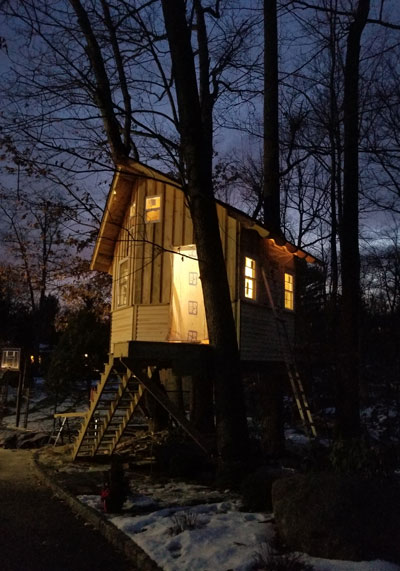 The Treehouse Guys - custom backyard tree house design and build
