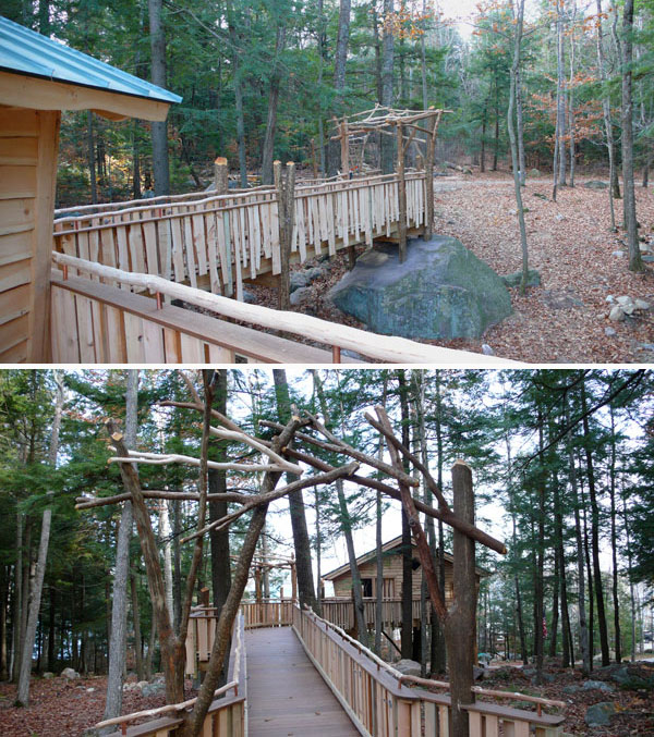 The treehouse Guys universally accessible tree house design and build