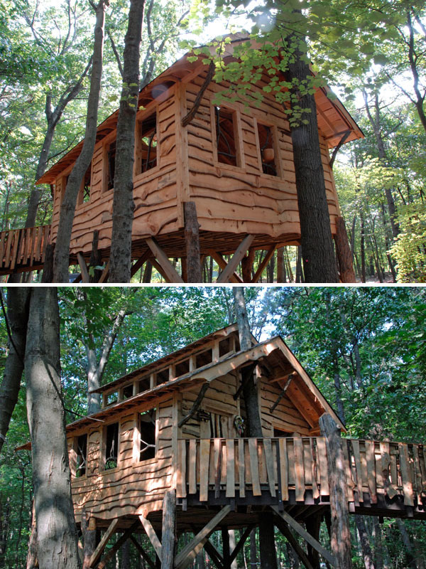 the Treehouse Guys universally accessible tree houses