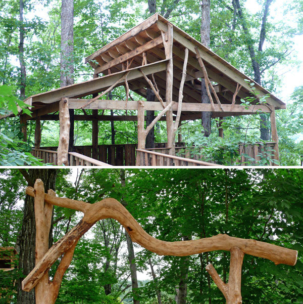 universally accessible tree house by The Treehouse Guys